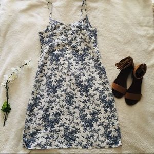 GAP Dresses - GAP Floral Linen Sundress